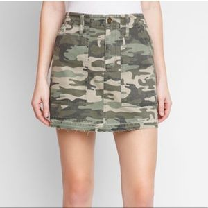 Sanctuary Camo Mini Skirt